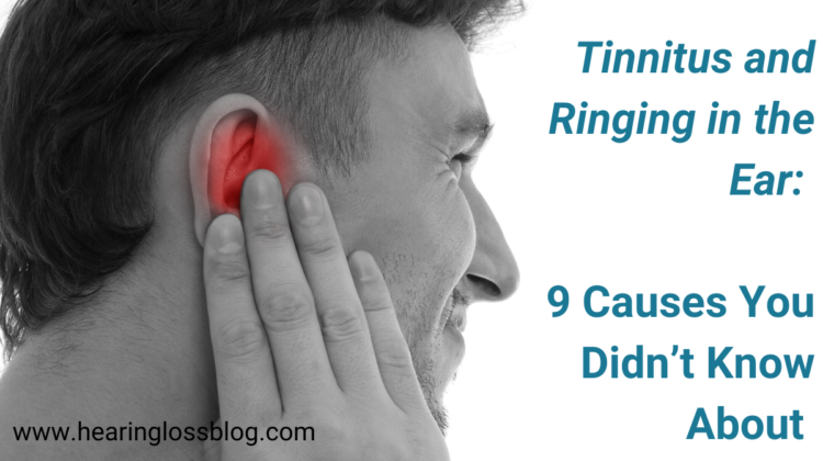 Tinnitus and ringing in the ear: 9 causes you didn't know about
