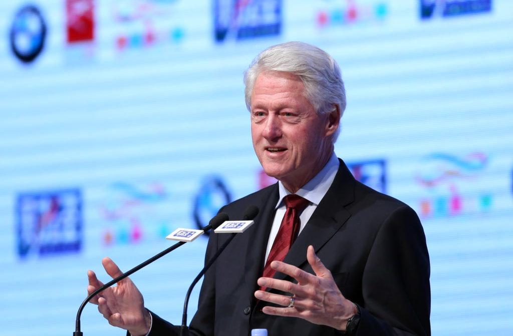 15 celebrities that are deaf or hard of hearing: Bill Clinton
