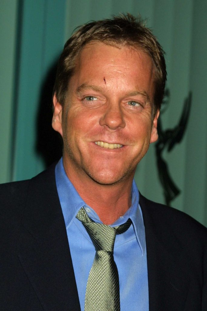 15 celebrities that are deaf or hard of hearing: Kiefer Sutherland