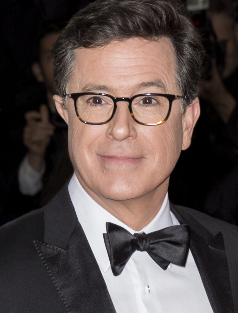 15 celebrities that are deaf or hard of hearing: Stephen Colbert