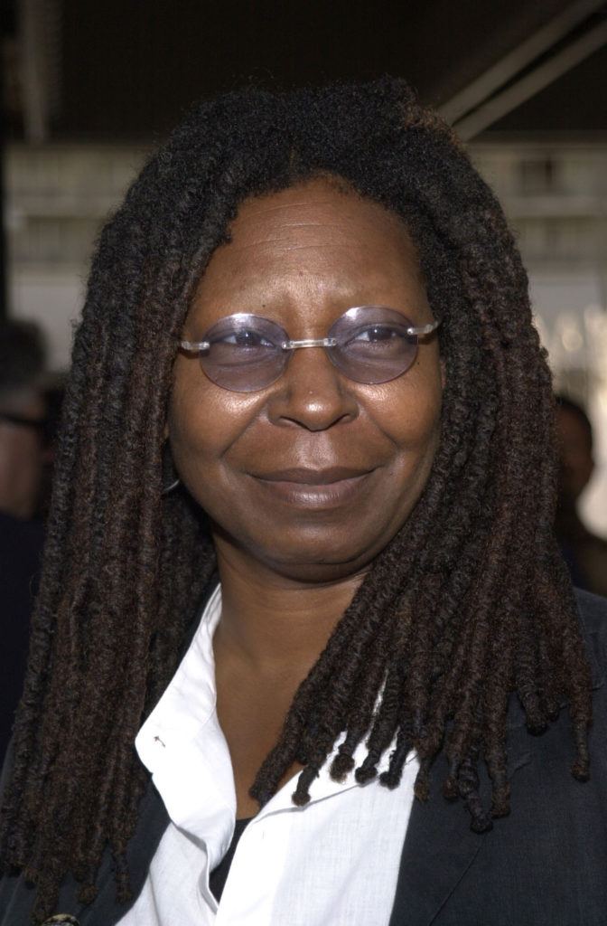 15 celebrities that are deaf or hard of hearing: Whoopi Goldberg