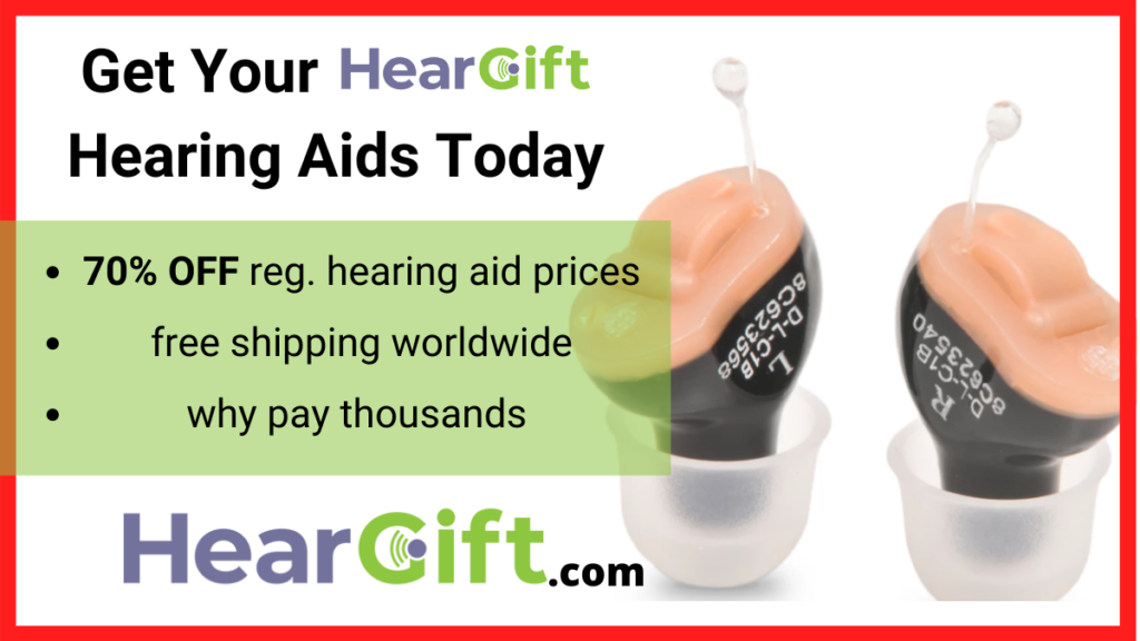 Hearing loss treatment with heargift hearing aids